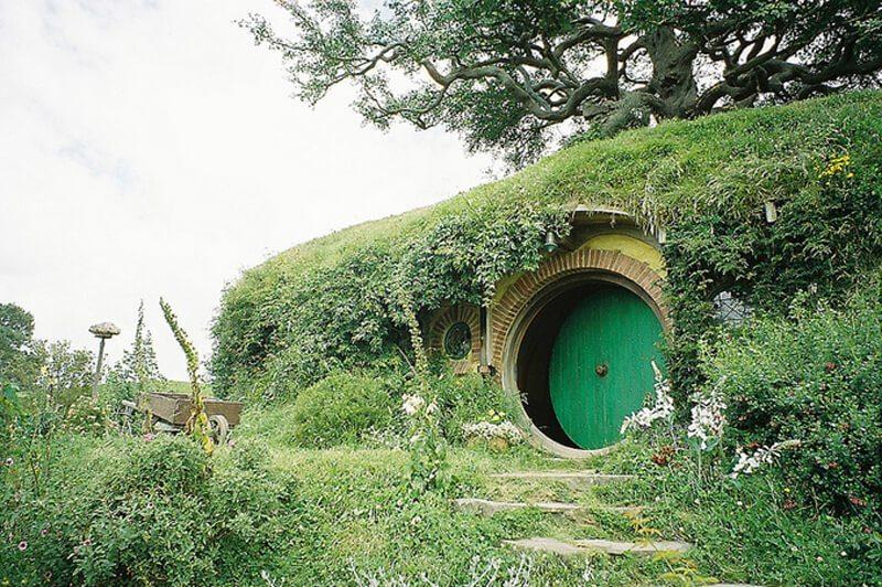 写真:ニュージーランドのホビット村