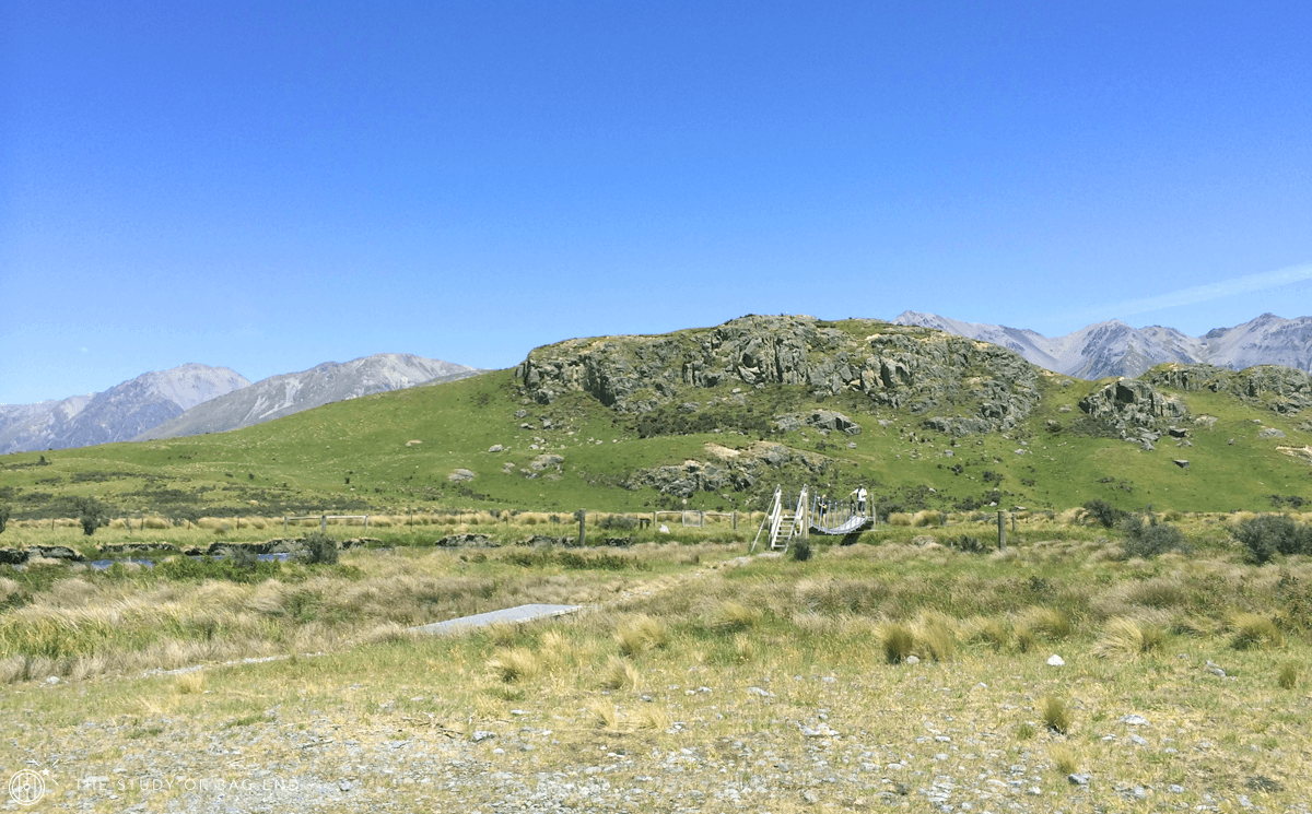 Edoras a.k.a. Mt. Sunday from the base