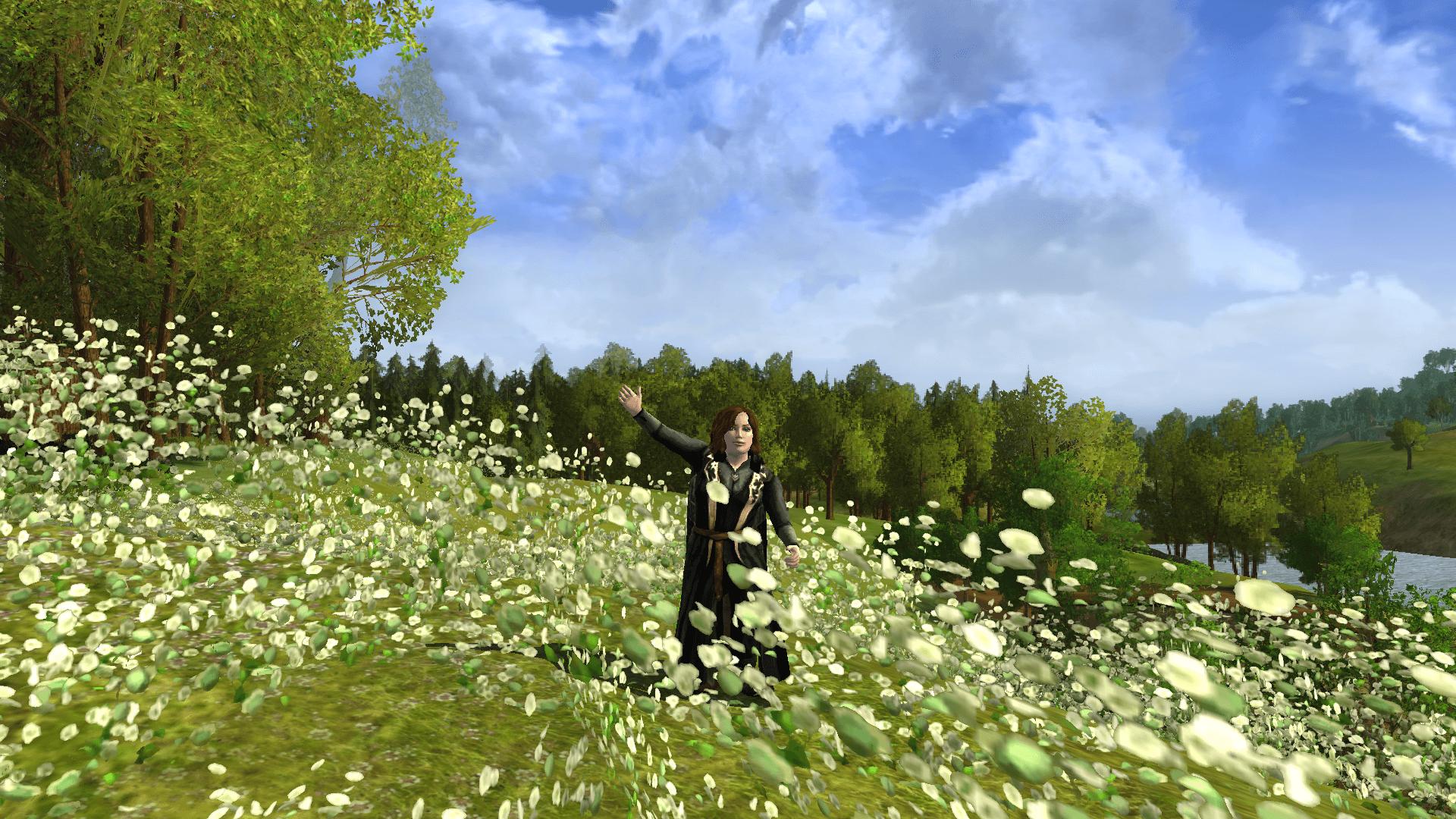 Sayawen in Hobbiton