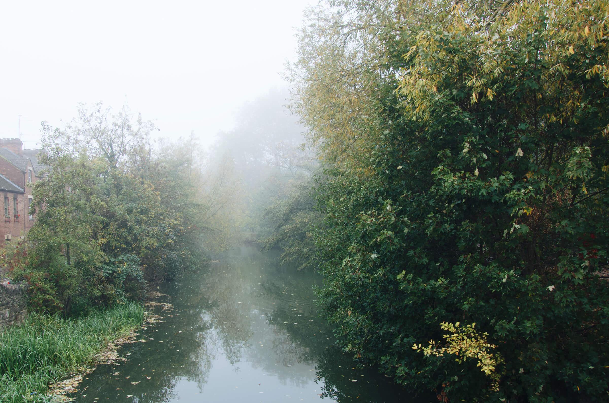 霧のオックスフォード