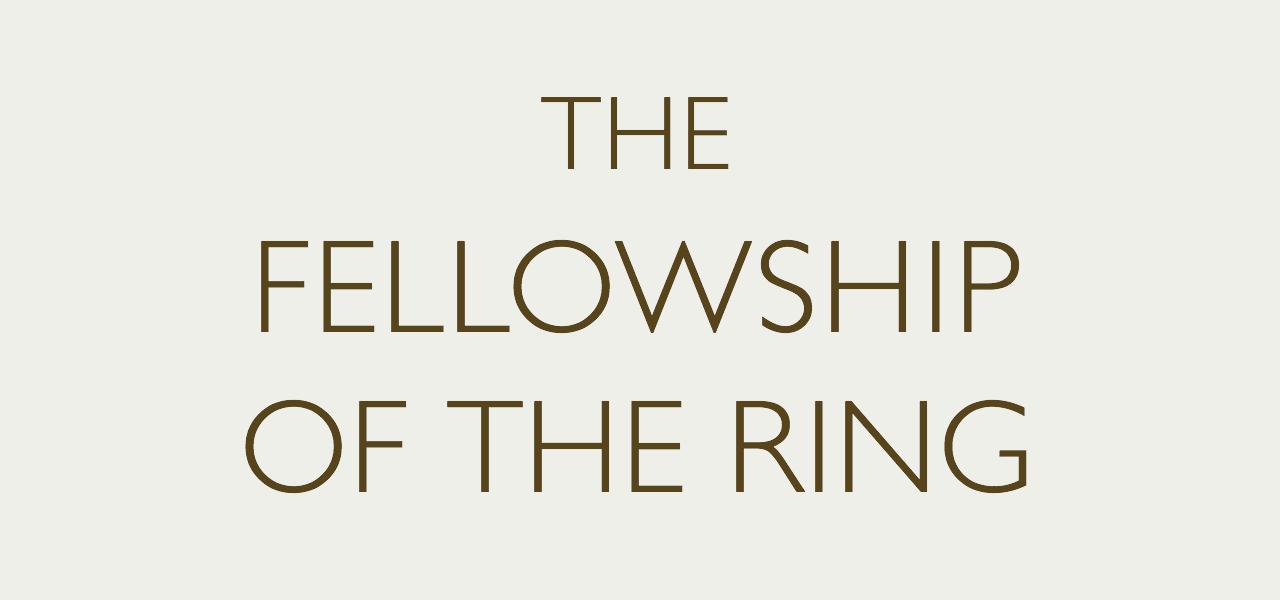 ギル・サンズを用いたThe Fellowship of the Ring
