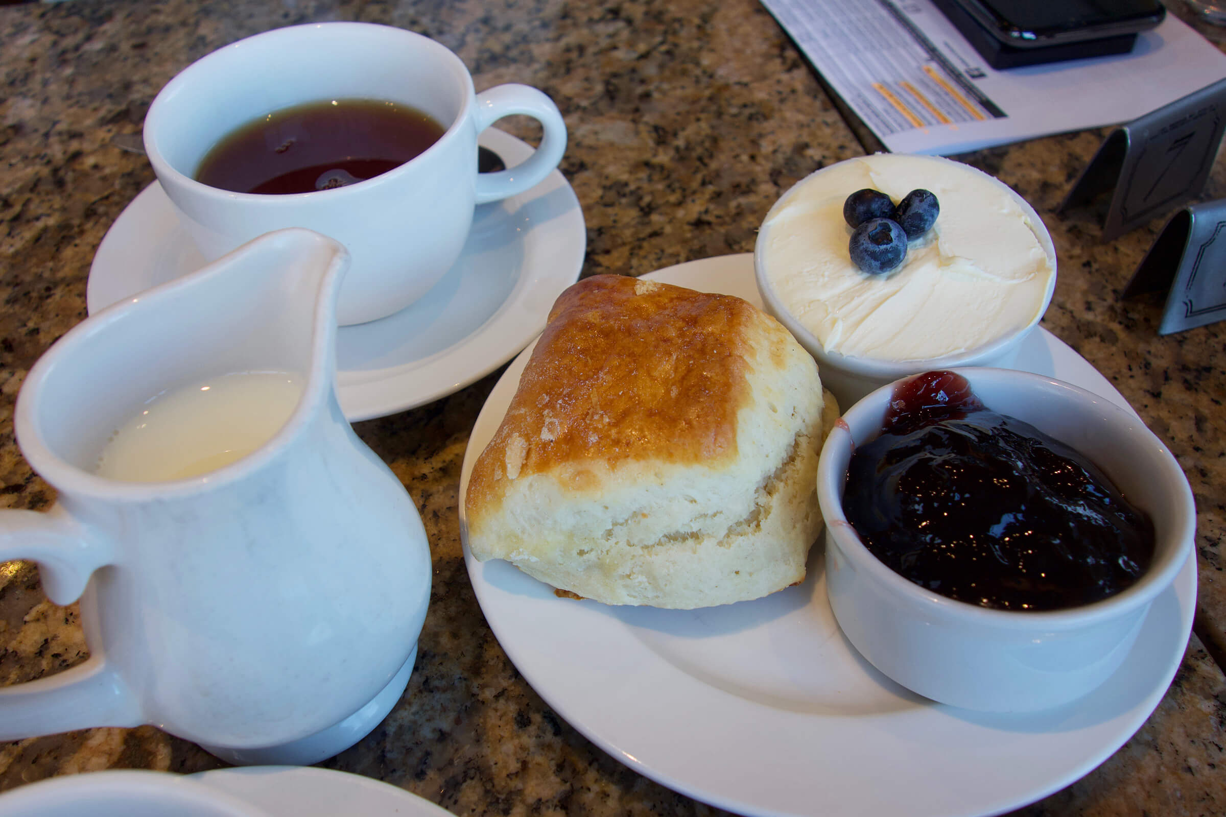 Cotswold afternoon tea at Huffkins