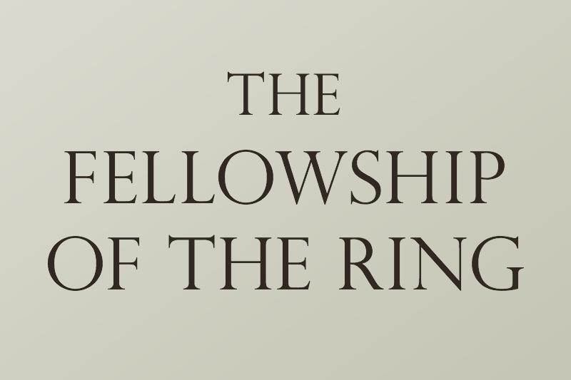 『指輪物語』初版の書体の顛末