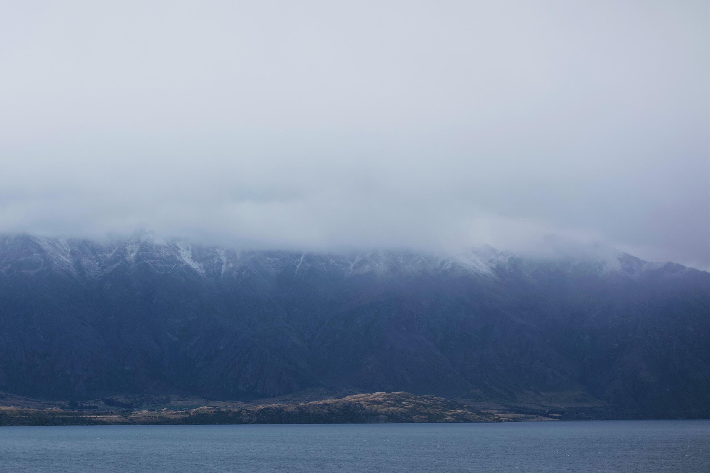 見えないリマーカブル山脈とディア・パーク・ハイツ