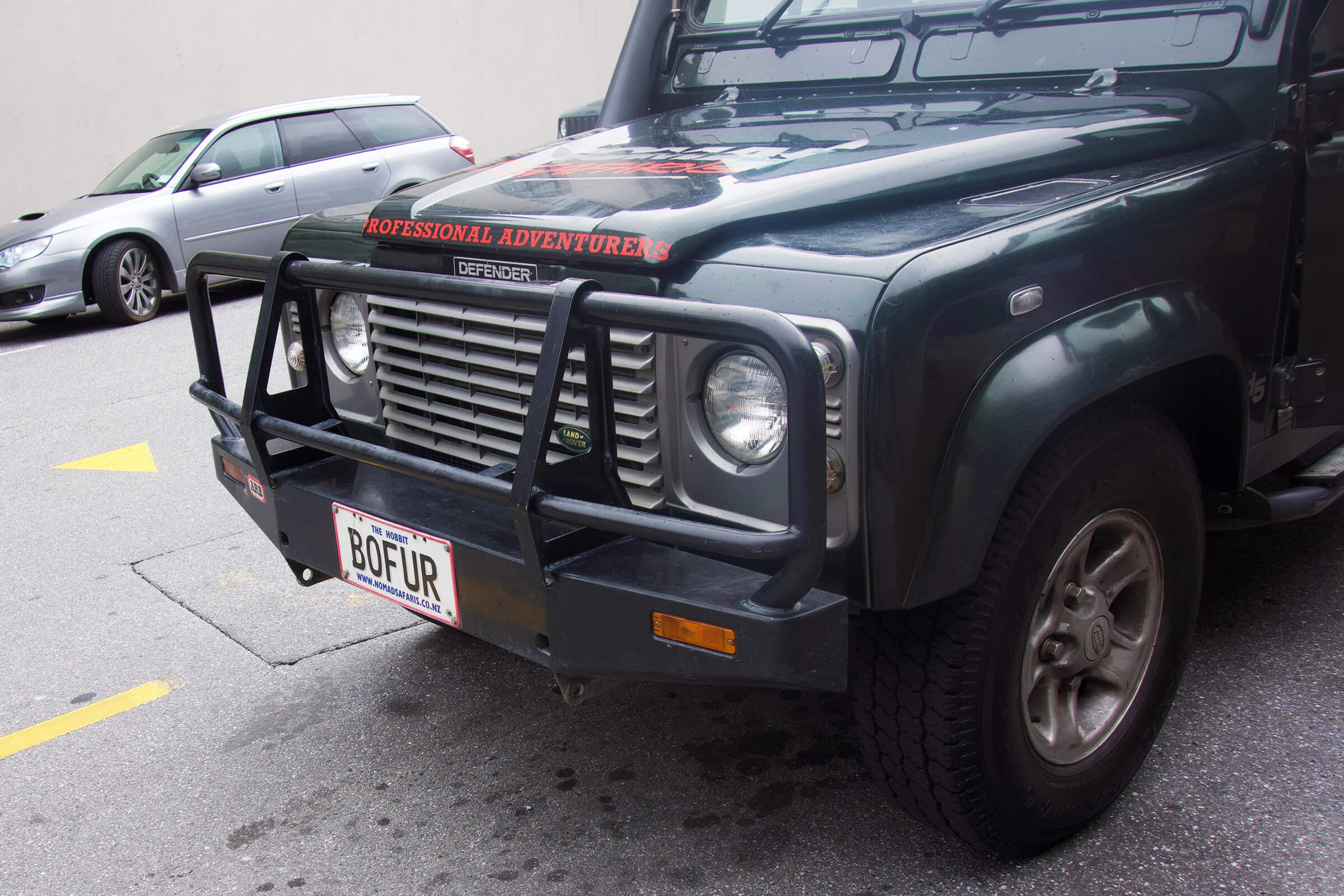 ノマド・サファリ社の車