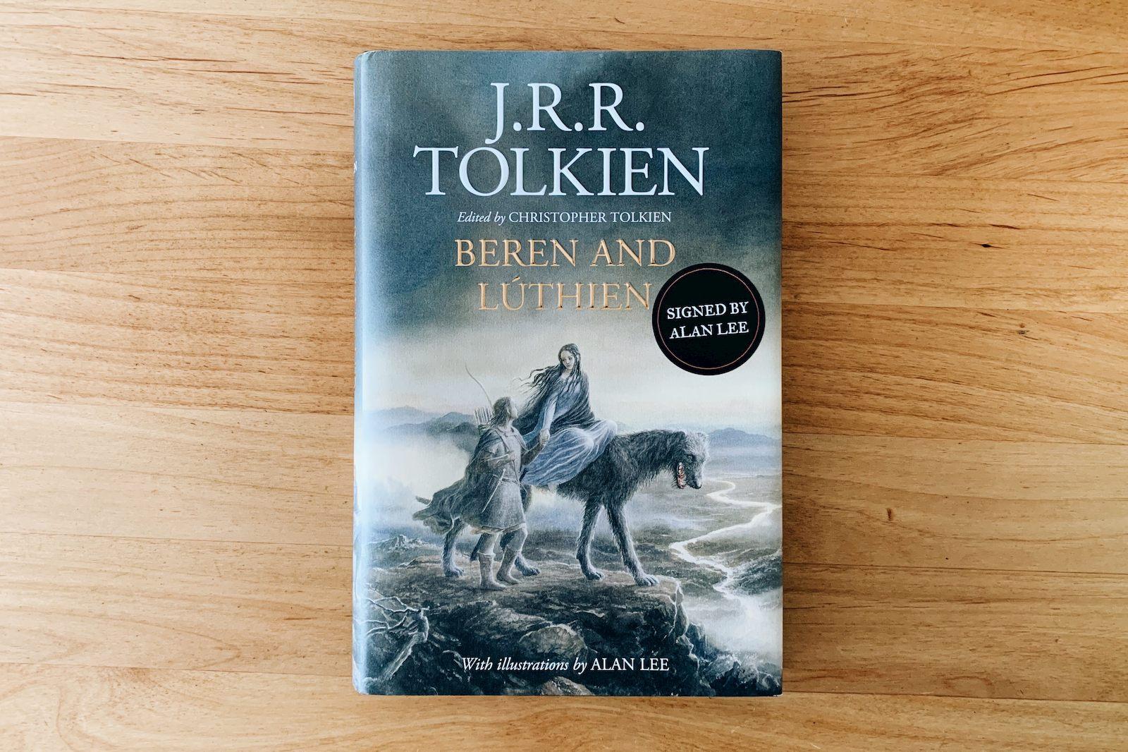 書影:Beren and Lúthien