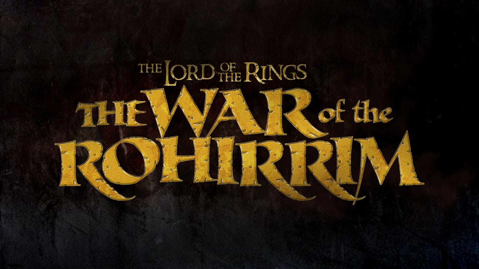 The Lord of the Rings: The War of the Rohirrm Logo